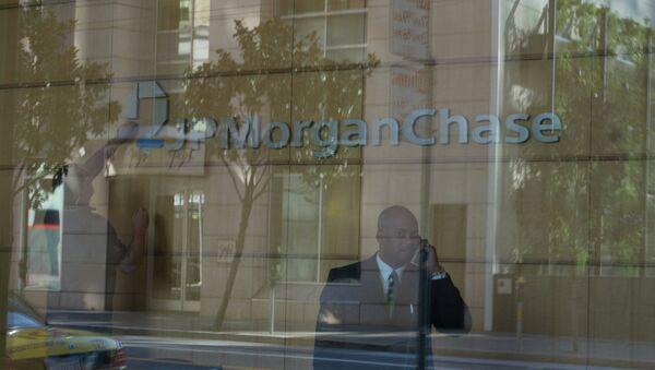 Одно из отделений банка JPMorgan Chase в Сан-Франциско - Sputnik International