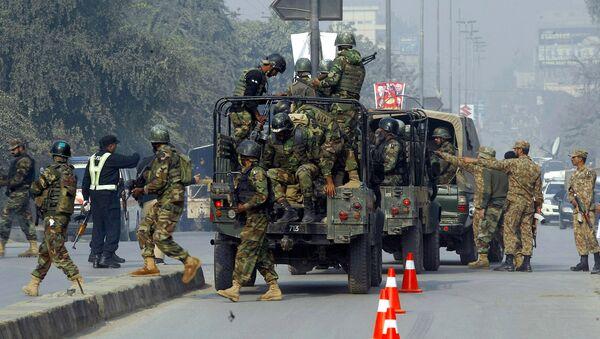 Pakistani army troops - Sputnik International