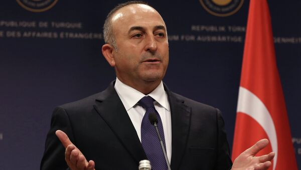 Turkish Foreign Minister Mevlut Cavusoglu - Sputnik International