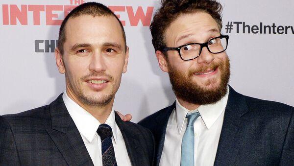 James Franco (L) and Seth Rogen - Sputnik International