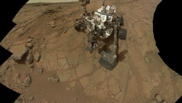 Mars rover, Curiosity - Sputnik International
