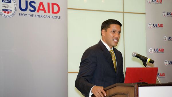 Administrator for the U.S. Agency for International Development (USAID) Rajiv Shah - Sputnik International