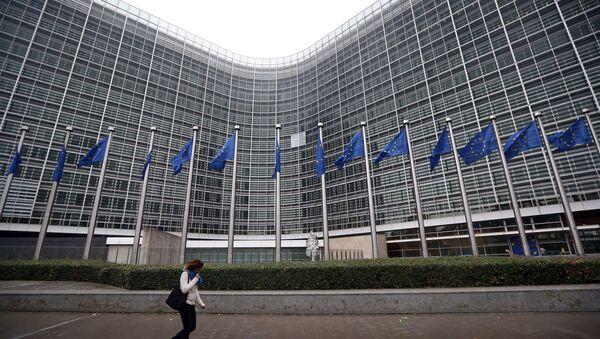 European Commission headquaters in Brussels, Belgium - Sputnik International