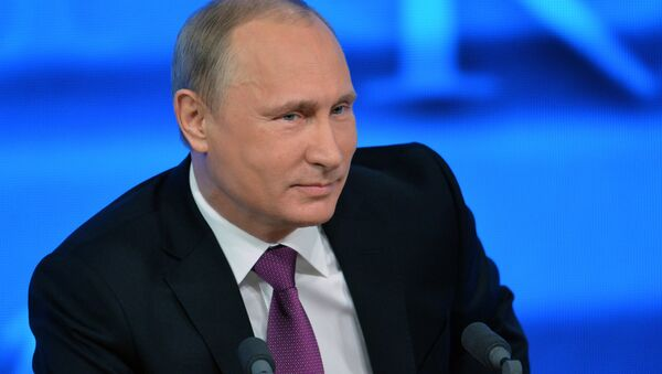 Tenth annual major news conference of Russian President Vladimir Putin - Sputnik International