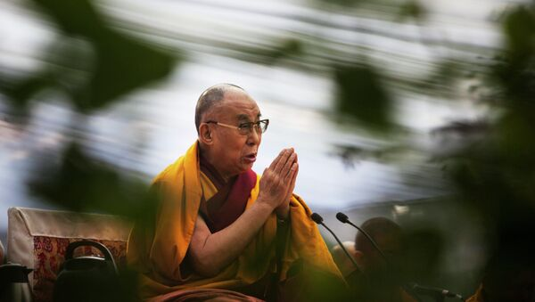 Tibetan spiritual leader the Dalai Lama - Sputnik International
