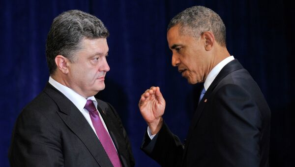 US President Barack Obama has signed the Ukraine Freedom Support Act, a press release issued on Thursday by the White House said. - Sputnik International