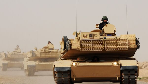 Iraqi Army Soldiers learn how to operate, maintain M1A1 tanks - Sputnik International