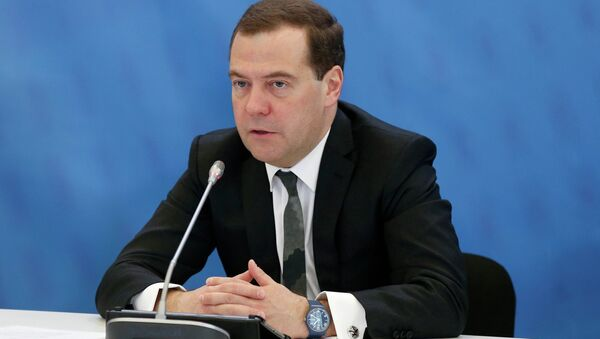 Meeting of presidium of the Presidential Council for Economic Modernisation and Innovative Development - Sputnik International