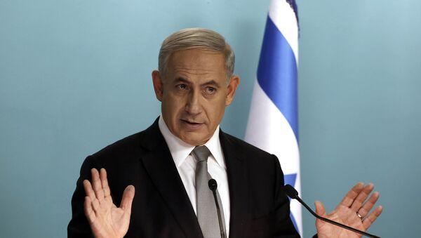 Israeli Prime Minister Benjamin Netanyahu - Sputnik International