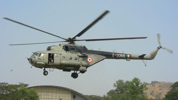 Indian Mi-17 helicopter - Sputnik International