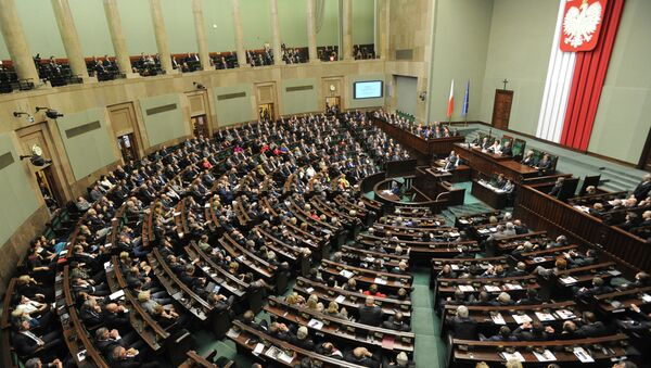 A general view of the Polish parliament - Sputnik International