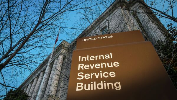 This April 13, 2014 file photo shows the headquarters of the Internal Revenue Service (IRS) in Washington. - Sputnik International