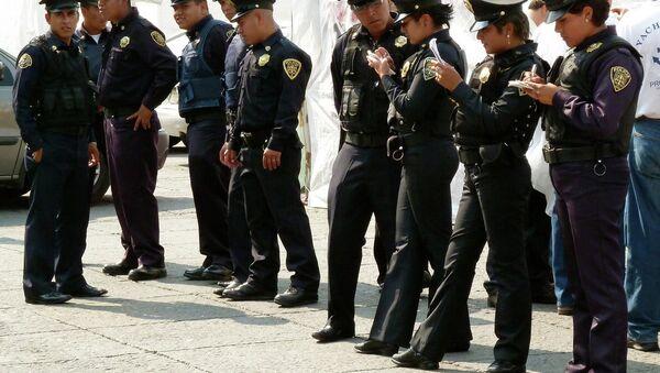 Mexico City Police - Sputnik International
