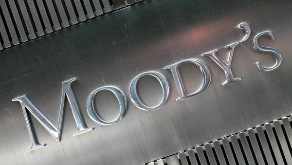 Moody's Investors Service said Tuesday it had downgraded to Baa2 from Baa1 the foreign currency rating of Russia's energy giant - Sputnik International