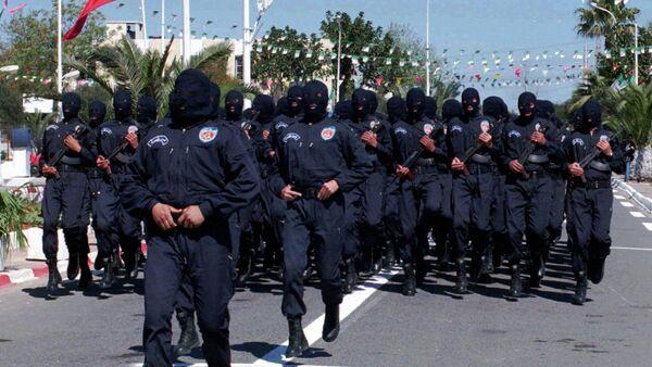 Algerian security forces - Sputnik International