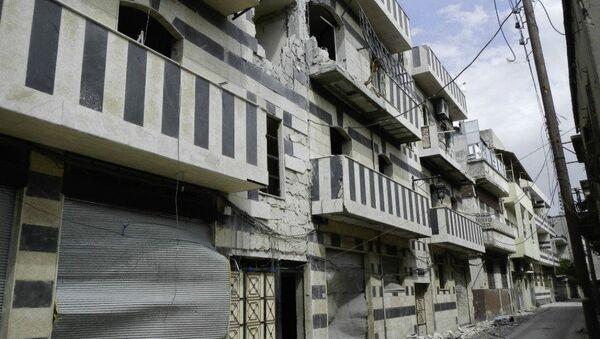 Destruction in Homs is everywhere - Sputnik International