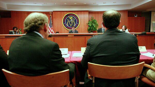 Federal Communications Commission (FCC) Meeting - Sputnik International