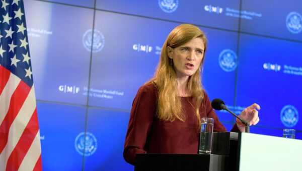 The US Ambassador to the United Nations Samantha Power - Sputnik International
