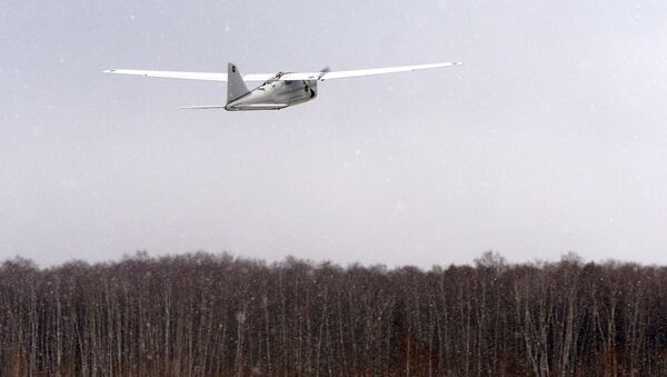 Launch of  drone Orlan-10 - Sputnik International