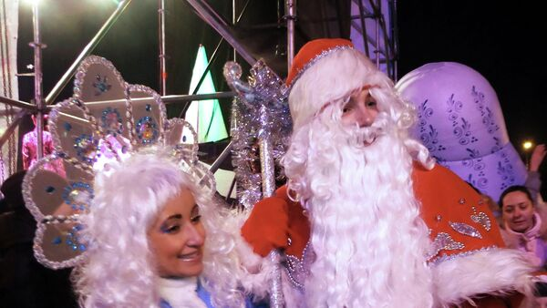 Donetsk was the only Ukrainian city, visited by Santa Claus, who skipped Kiev during his Christmas Journey, the North American Aerospace Defense (NORAD) said Thursday - Sputnik International