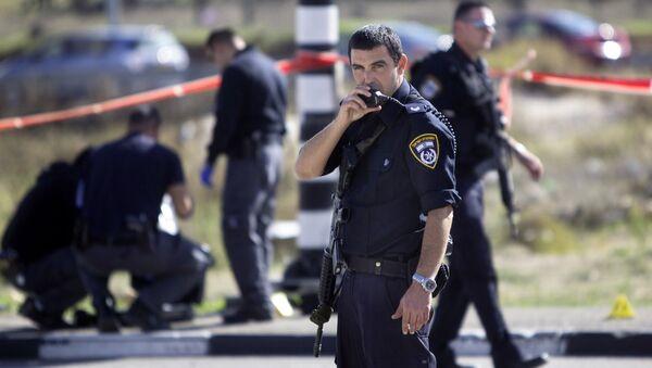 Israeli police officers - Sputnik International