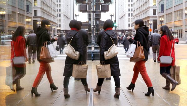 Retailers around the world expect shoppers to spend billions of dollars on a Boxing Day shopping frenzy. - Sputnik International