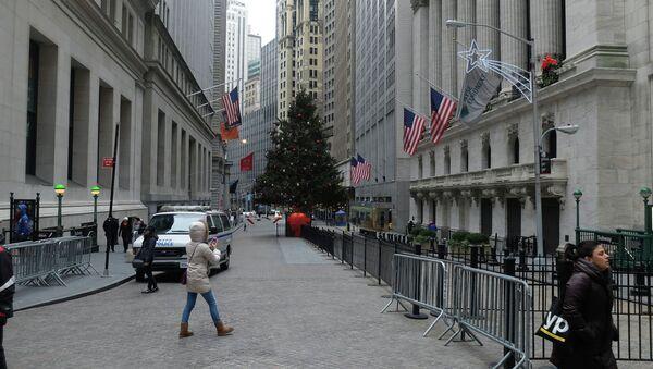Wall Street New York - Sputnik International
