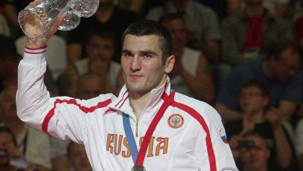 Artur Beterbiev, 81 kg, gold winner of the European Boxing Championships. - Sputnik International