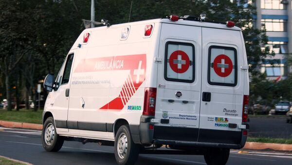 Brazil ambulance - Sputnik International