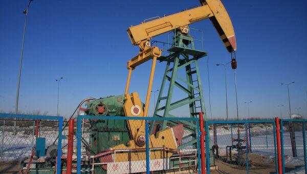 Nodding donkey oil pump in Daqing - Sputnik International