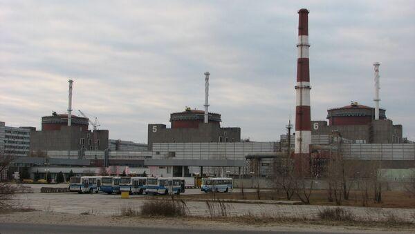 The Zaporizhia Nuclear Power Station - Sputnik International