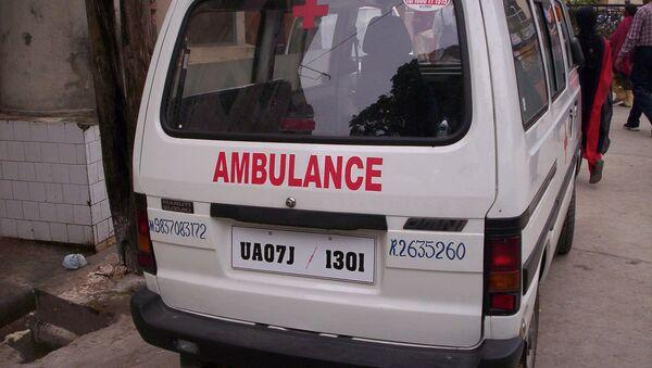 Indian Ambulance - Sputnik International