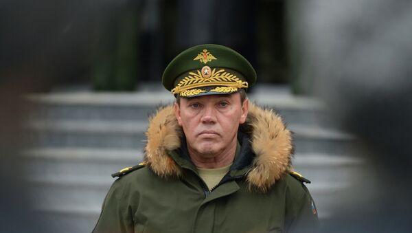 Russian Chief of the General Staff, Gen. Valery Gerasimov - Sputnik International