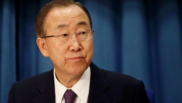 U.N. Secretary-General Ban Ki-moon - Sputnik International