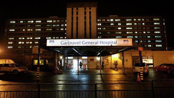 A general view of Gartnavel General Hospital is seen in Glasgow, Scotland December 29, 2014 - Sputnik International