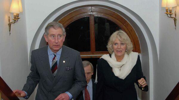 Prince Charles and Camilla - Sputnik International