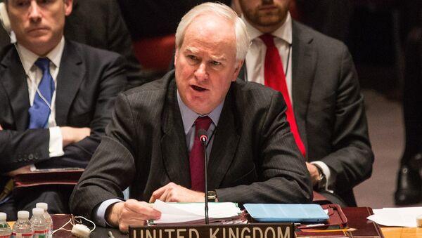 United Kingdom Ambassador to the United Nations (UN), Mark Lyall Grant - Sputnik International