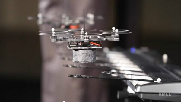 World Web Virtuosos: Peaceful Drones Skillfully Perform Strauss - Sputnik International
