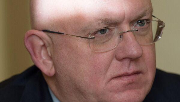 Deputy Foreign Minister Vasily Nebenzya - Sputnik International