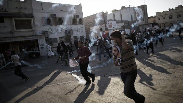 Bahraini protestors - Sputnik International