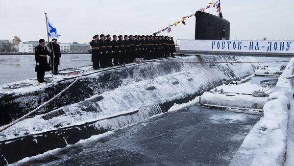 Rostov-on-Don submarine - Sputnik International