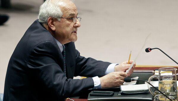 Palestinian Ambassador to the United Nations Riyad Mansour - Sputnik International