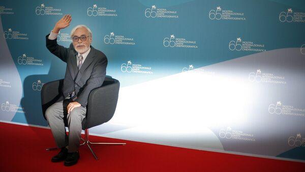 Japanese director Hayao Miyazaki - Sputnik International
