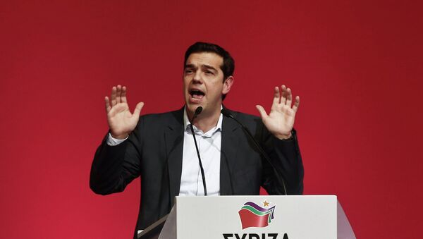 Alexis Tsipras, opposition leader and head of radical leftist Syriza party - Sputnik International