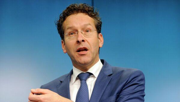 Eurogroup president Jeroen Dijsselbloem - Sputnik International