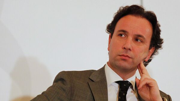Khaled Khoja, then-member of the Syrian National Council (SNC), attends the Syrian Business Forum in Doha in this June 6, 2012 file photo. - Sputnik International