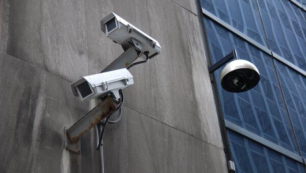 Surveillance in NYC's financial district. - Sputnik International