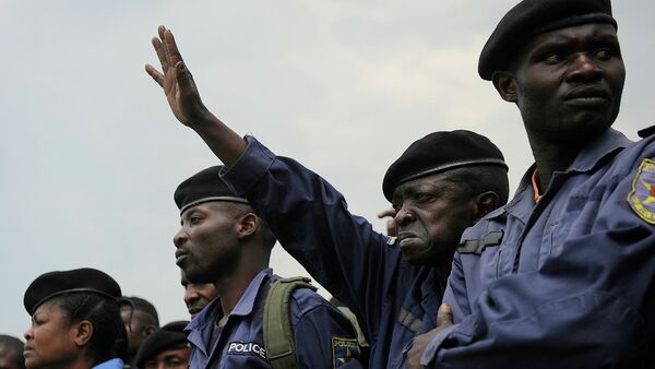 DR Congo police officers - Sputnik International