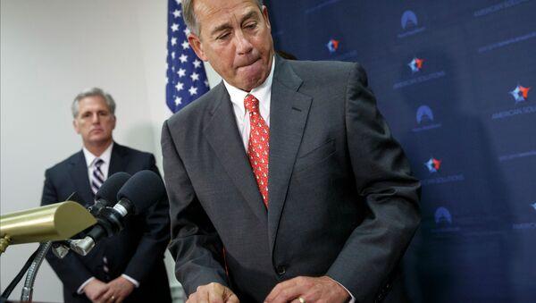 Speaker of the United States House of Representatives John Boehner - Sputnik International