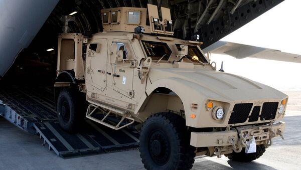 Oshkosh M-ATV Mine Resistant Ambush Protected (MRAP) all-terrain vehicle - Sputnik International